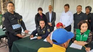 Secretaría de Gobierno inaugura módulo de Sí al desarme, sí a la paz en Cuauhtémoc