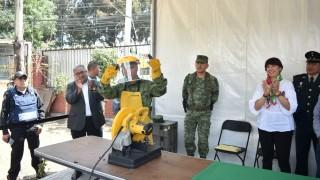 Secretaría de Gobierno pone en operación tercer módulo de Sí al desarme, sí a la paz en Iztapalapa
