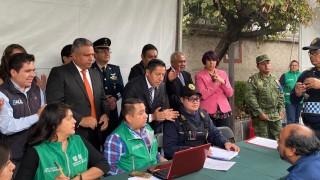 Secretaría de Gobierno inaugura módulo de Sí al desarme, sí a la paz en Miguel Hidalgo